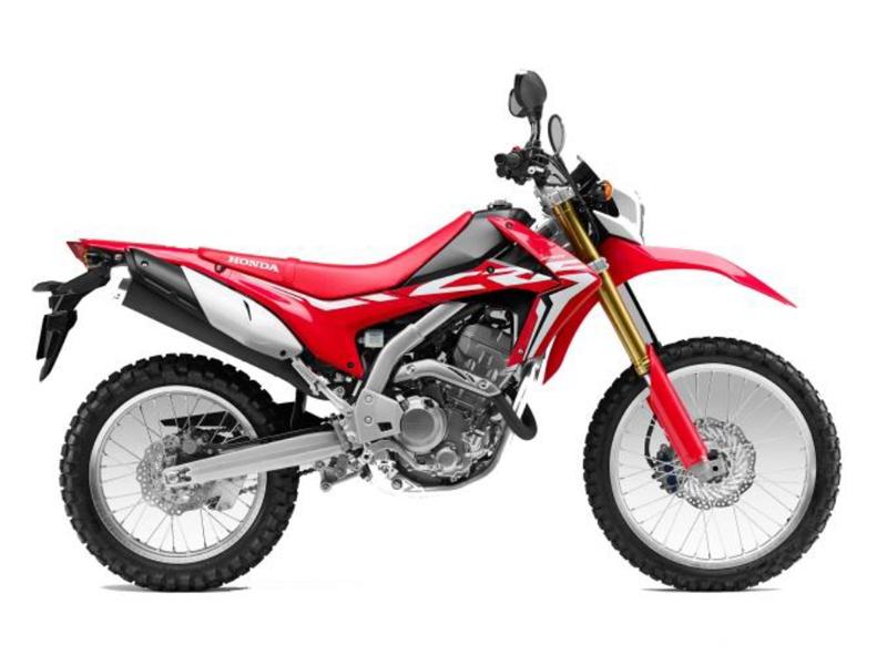CRF250LD H R292R RED & WHITE