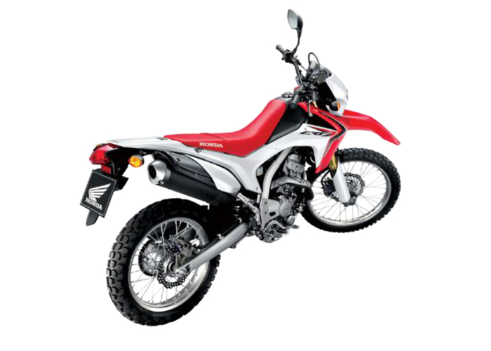 CRF250LD R292R RED & WHITE