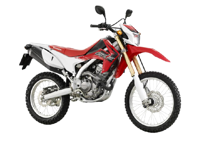 CRF250LE R292R RED & WHITE