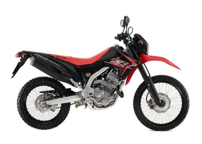 CRF250LF NH1 BLACK & RED