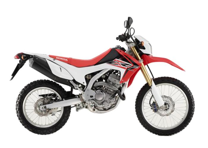 CRF250LF R292R RED & WHITE