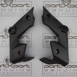 HONDA MSX MSX125 GROM GROM125 SF BOOMERANG PAIR PANEL FAIRING MAT AXIS GREY 2016
