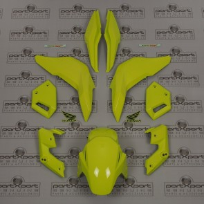 HONDA GENUINE MSX MSX125 GROM SF FAIRINGS SET + DECALS ICE YELLOW 2016 - 2019