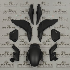 HONDA GENUINE MSX MSX125 GROM SF FAIRINGS SET + DECALS MATT AXIS GREY 2016 - 2019