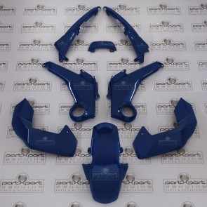 HONDA MSX GROM 125 FULL PANEL FAIRING SET GENUINE PISCES BLUE 2013-2015
